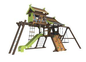 Детские деревянные комплексы для загородного дома
