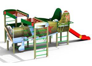 Оборудование для детских площадок (горки, домики, малые архитектурные формы)