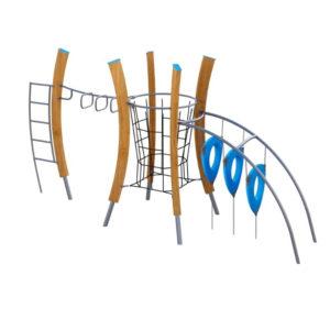 Комплексы на гнутых деревянных столбах